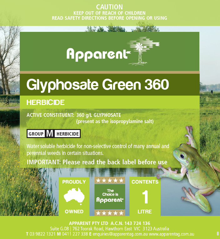 This is a graphic of Peaceful Apparent Ravage Herbicide Label