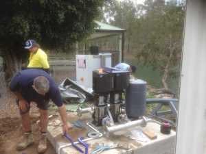Irrigation Project Installation by DJ's tradesmen.