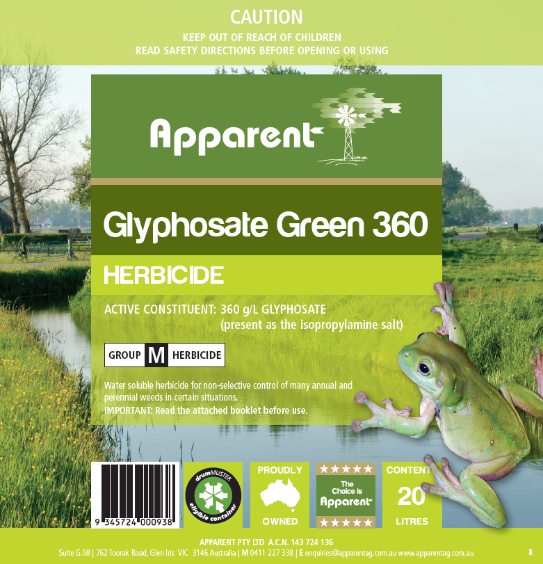 Glypho weed spray